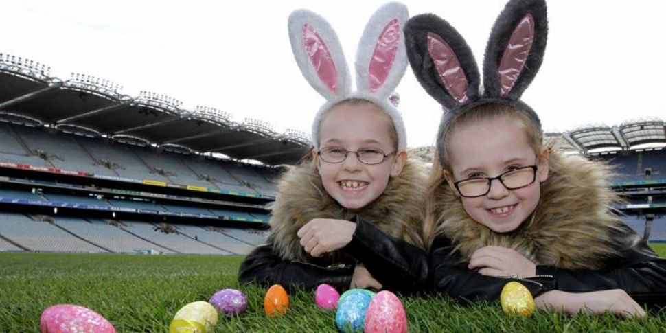 A Giant Croke Park Easter Egg...
