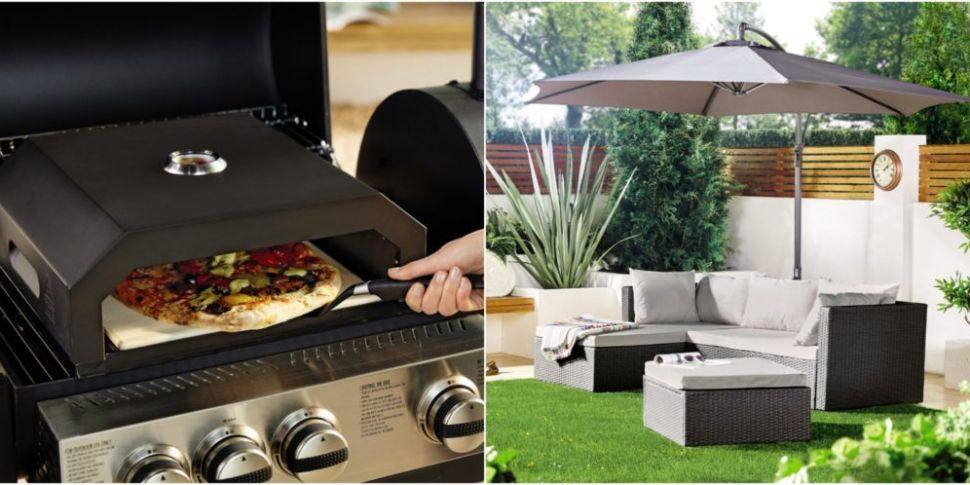 Aldi Pizza Oven.Aldi S New Garden Collection Features Bbq Pizza Oven Www