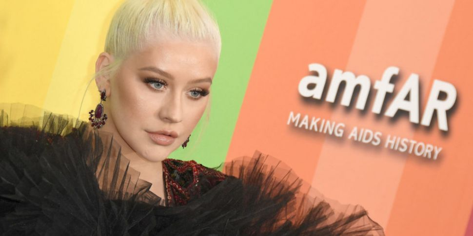 Christina Aguilera Spotted In...