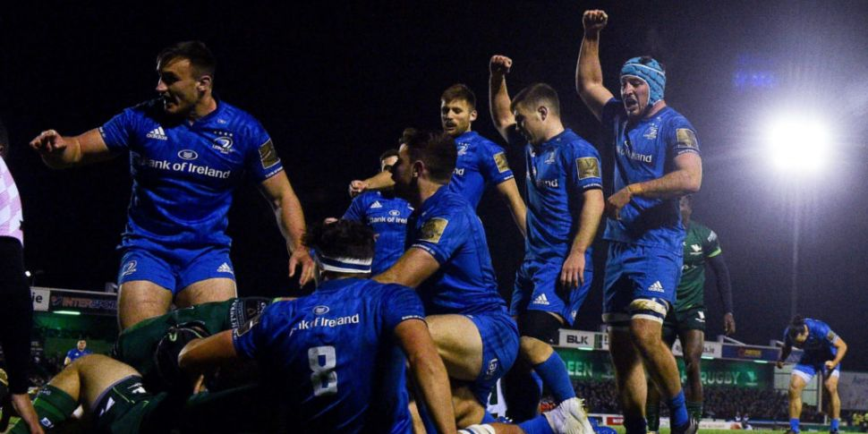 Merciless Leinster crush Conna...