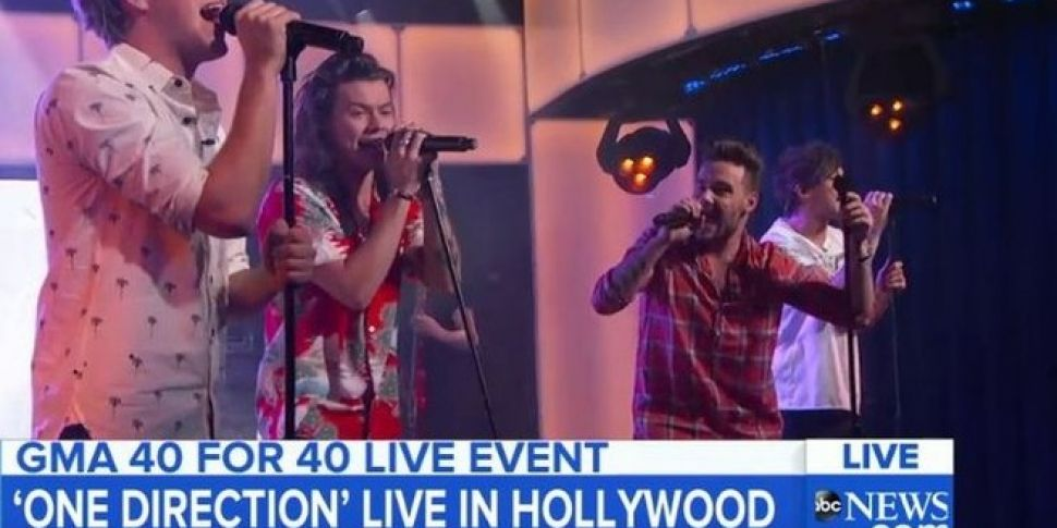 One Direction Perform History On GMA | www 98fm com