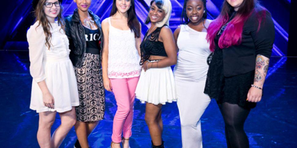 XFactor Final 6 Girls
