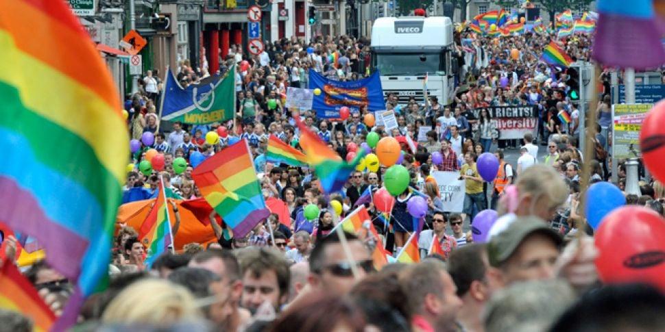 Dublin's 2018 Pride Parade...