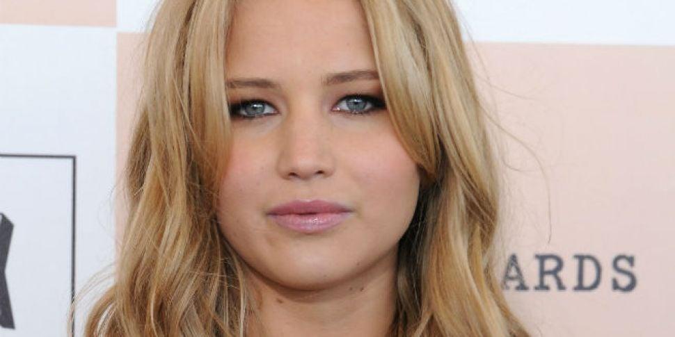 Jennifer Lawrence Visits Sick...