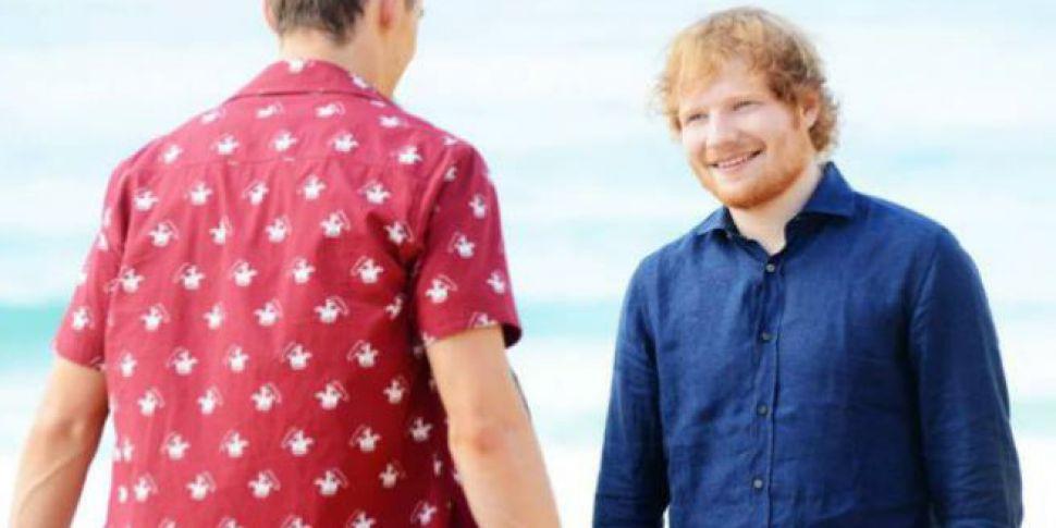 Watch Ed Sheeran On Home And Away | www 98fm com