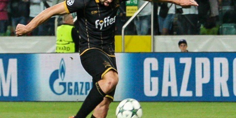 """Champions League Goal """"Best I've Scored By A Mile"""" – Dundalk's Robbie Benson"""