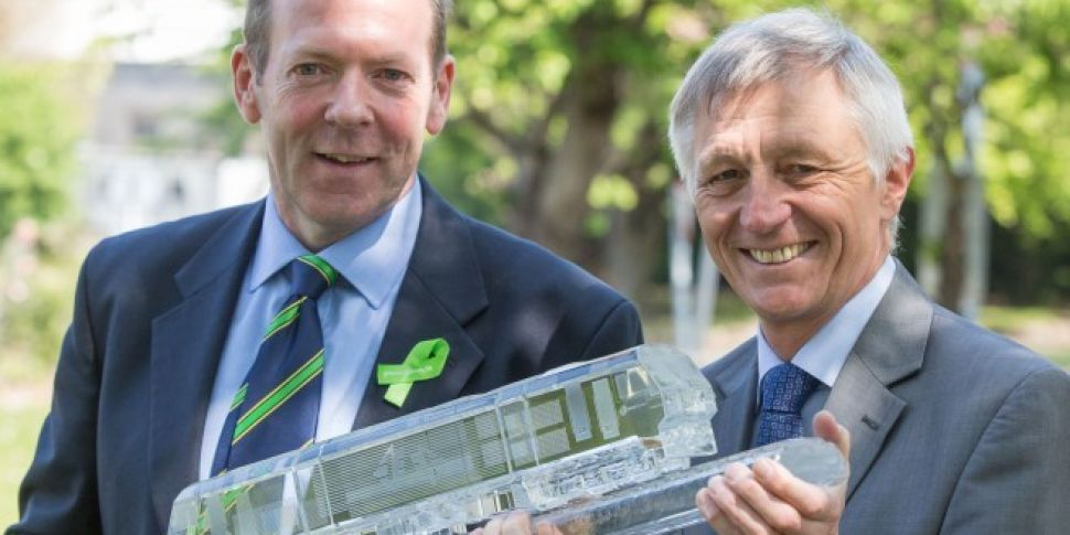 Pearse Named Best Train Statio...