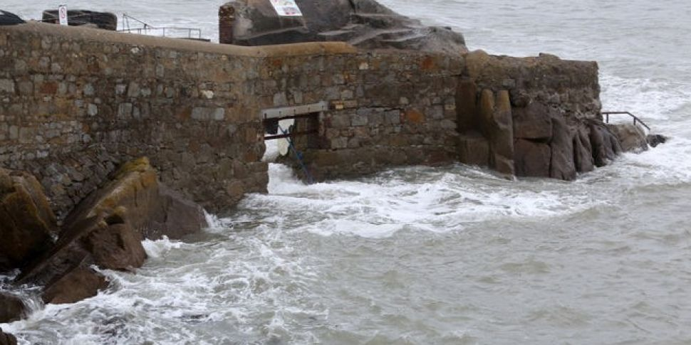Swimmer Rescued At Forty Foot