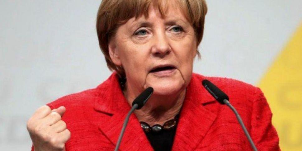 Angela Merkel To Stand Down As...