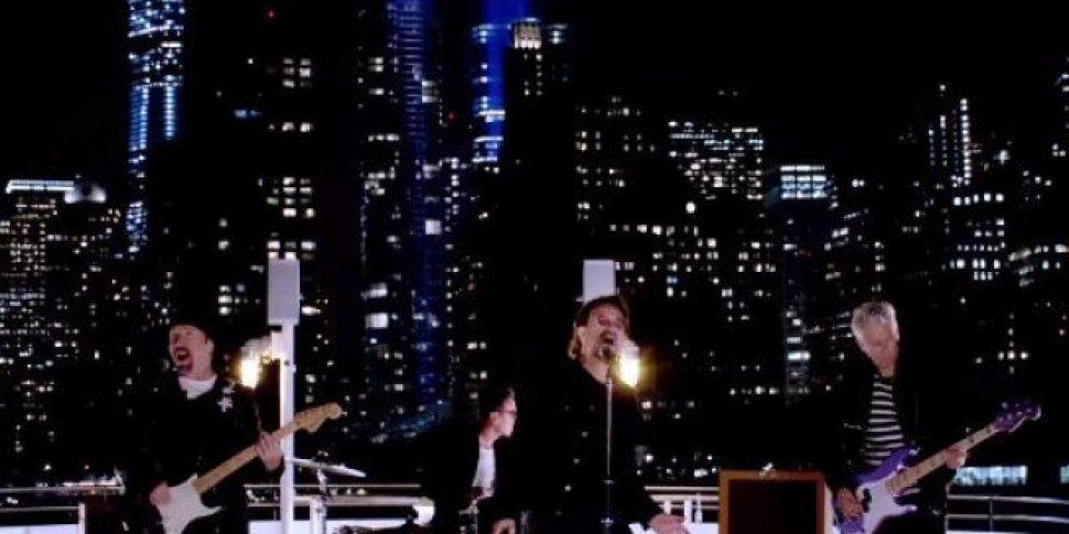 U2 Release New Music Video