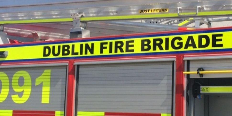 Dublin Fire Brigade Battles Ho...