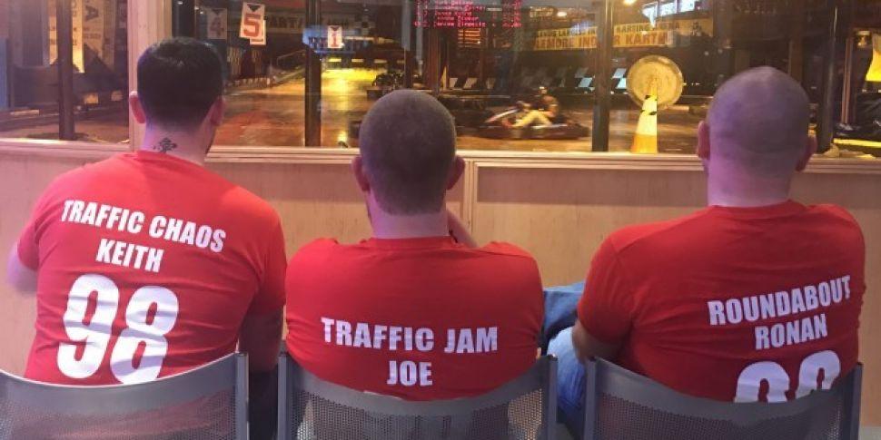 98FM's Big Breakfast Traffic Updater Race