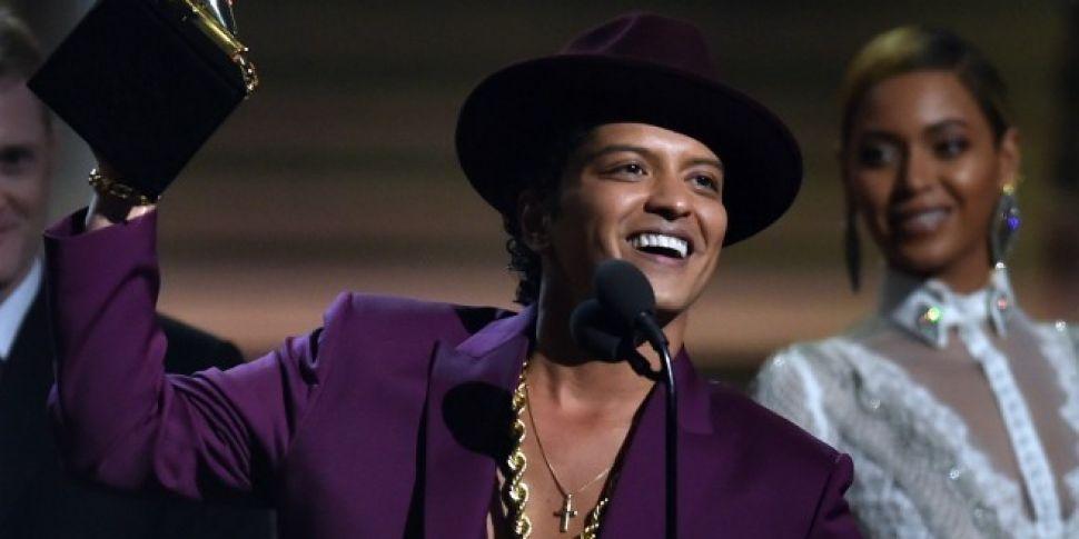 24K Magic For Bruno Mars At Th...