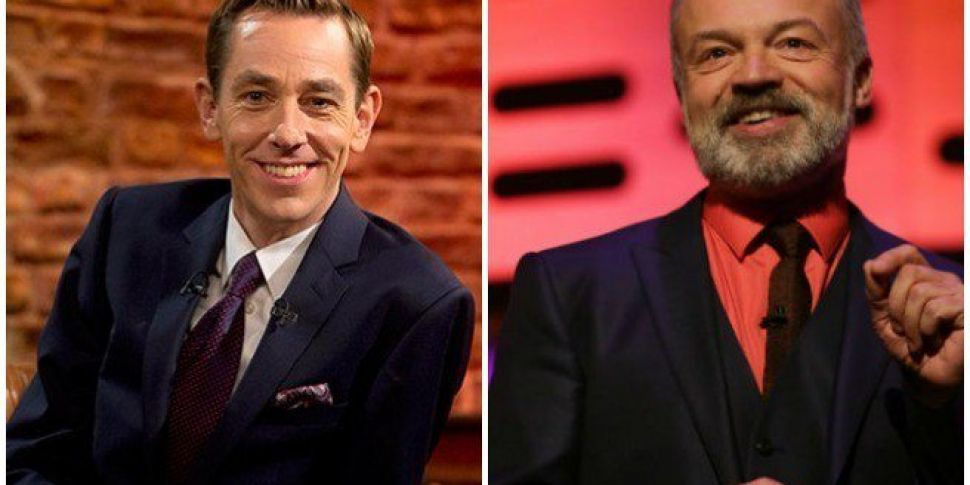 Here's Who's On Tonight's Late Late & Graham Norton Show