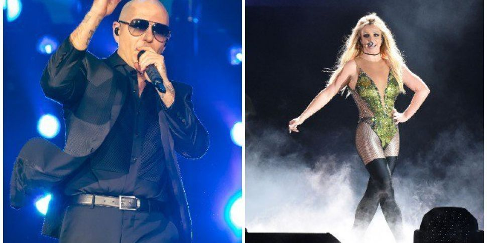 Pitbull To Support Britney Spe...