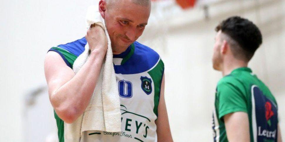 Kieran Donaghy talks basketbal...