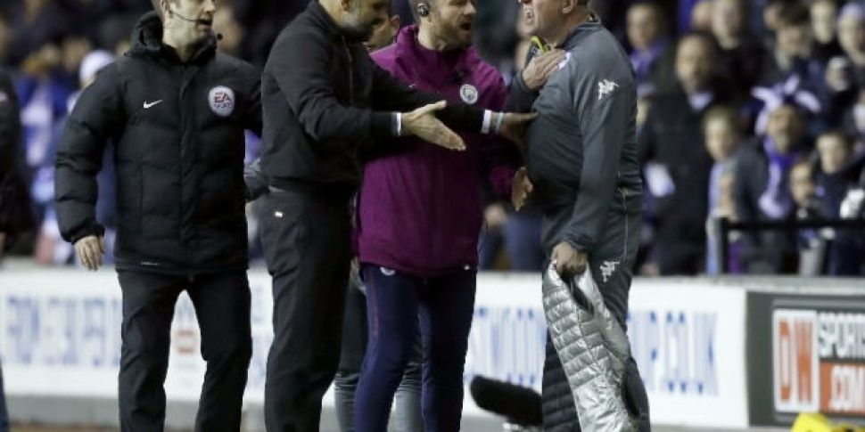 Man City and Wigan Athletic slapped with FA charge over melee