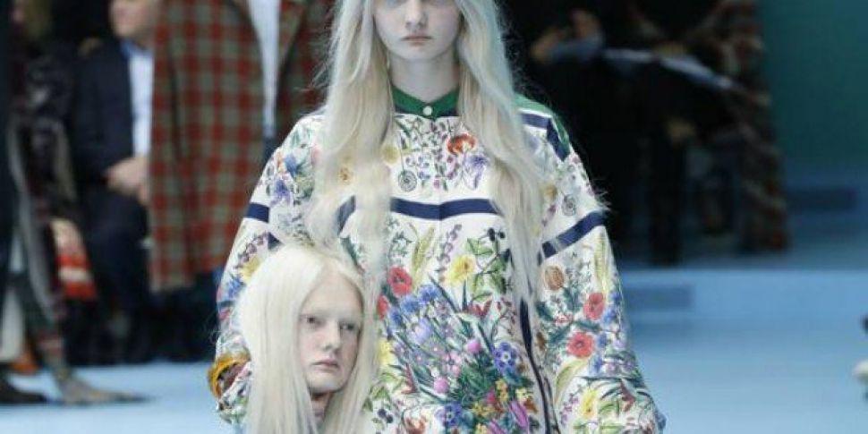 c2926fccf8d Heads Turn At Gucci Fashion Show