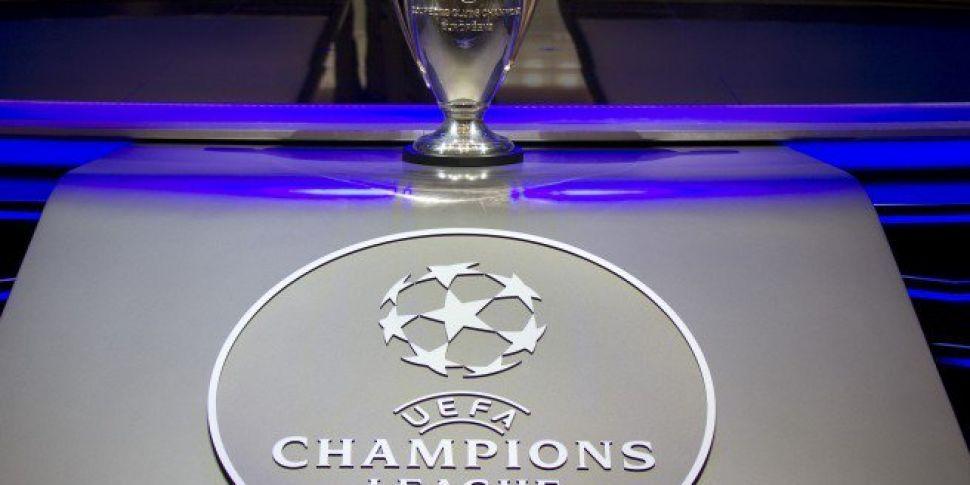 Champions League Drop 7.45pm Kick-Offs