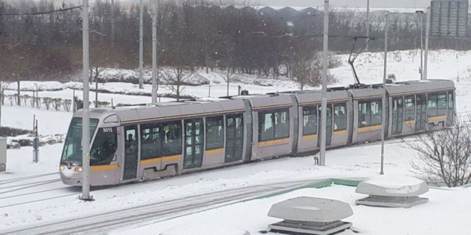 Arrangements For The Last Luas Trams