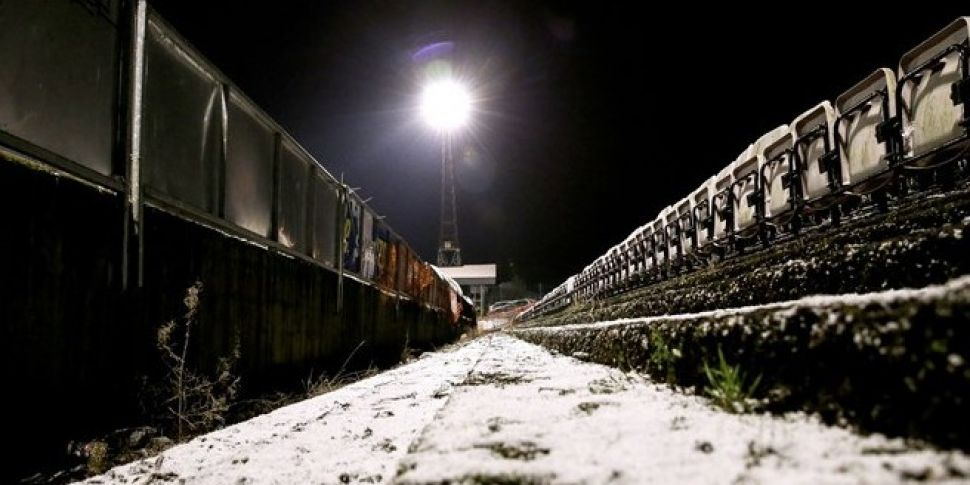 League of Ireland games called off
