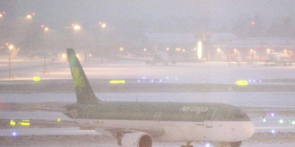 All Flights At Dublin Airport Suspended Until Saturday