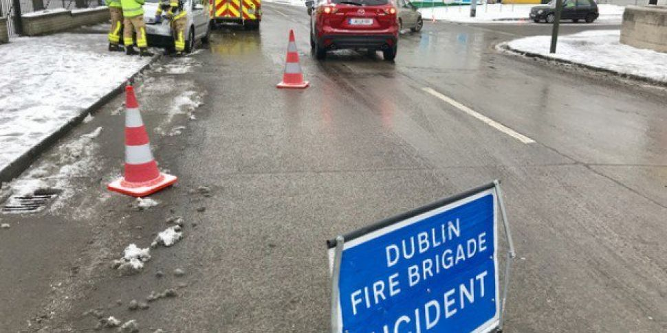 Storm Emma Causes Flooding In South Dublin