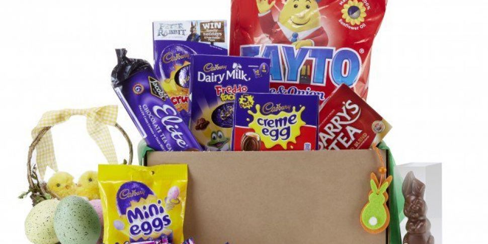 You Can Send A Package Full Of Easter Chocolate To Friends Abroad