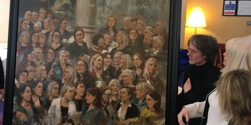 New Portrait Featuring All Female TDs And Senators Unveiled