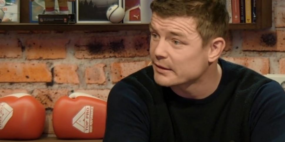 """Brian O'Driscoll on Keith Earls: """"At training, he scares people"""""""