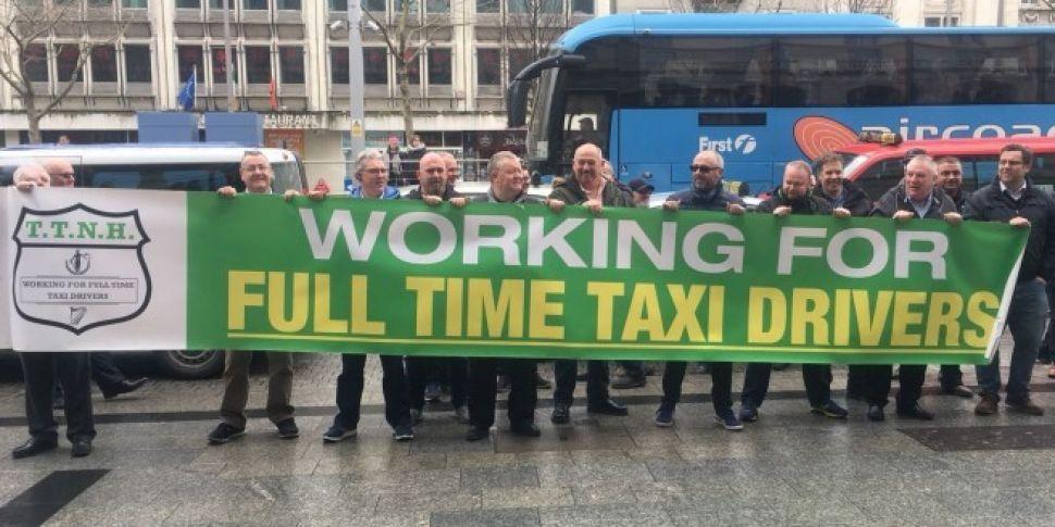 """""""We'll Go On Strike"""" - Dublin Taxi Drivers Threats On Dublin Talks"""