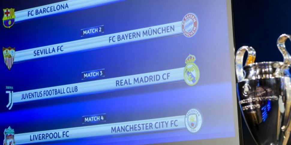 Liverpool And Man City To Collide In Champions League Quarter-Finals