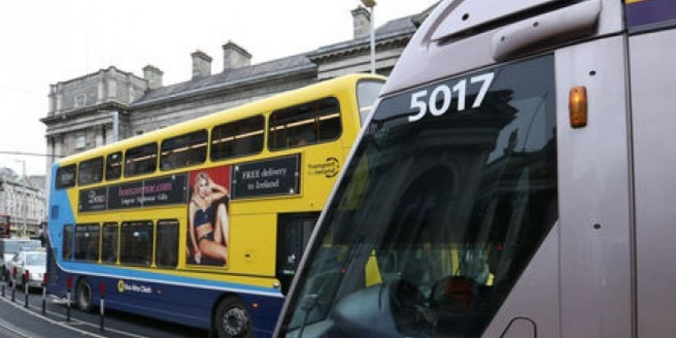 Calls For Dublin Bus To Pick Up Luas Customers Who Can't Board Packed Trams