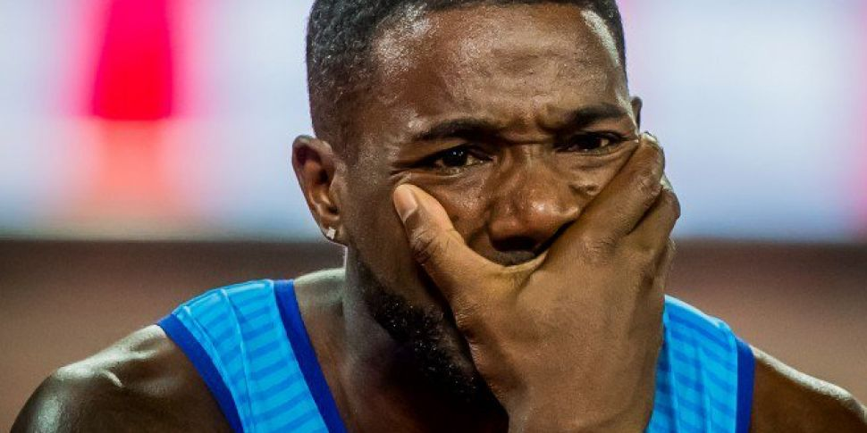 Justin Gatlin says he is 'shocked and surprised' by allegations against his coach