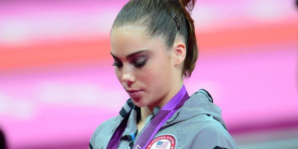 Olympic gold medalist says she...
