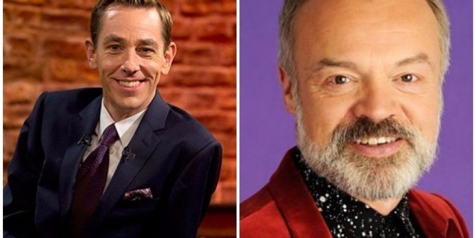 Tonight's Late Late & Graham Norton Show Line Ups
