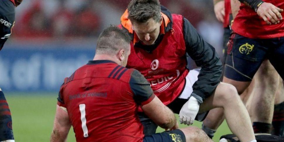 Injured Kilcoyne replaced by C...