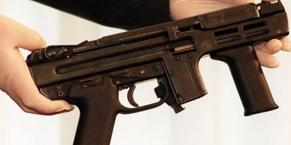 Load Sub Machine Gun Found In...