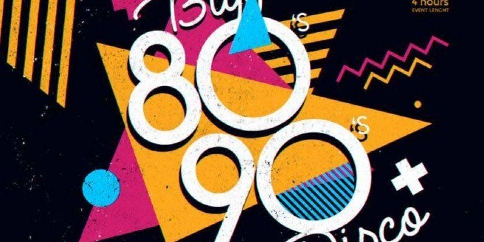 Massive 80s & 90s Disco Announ...