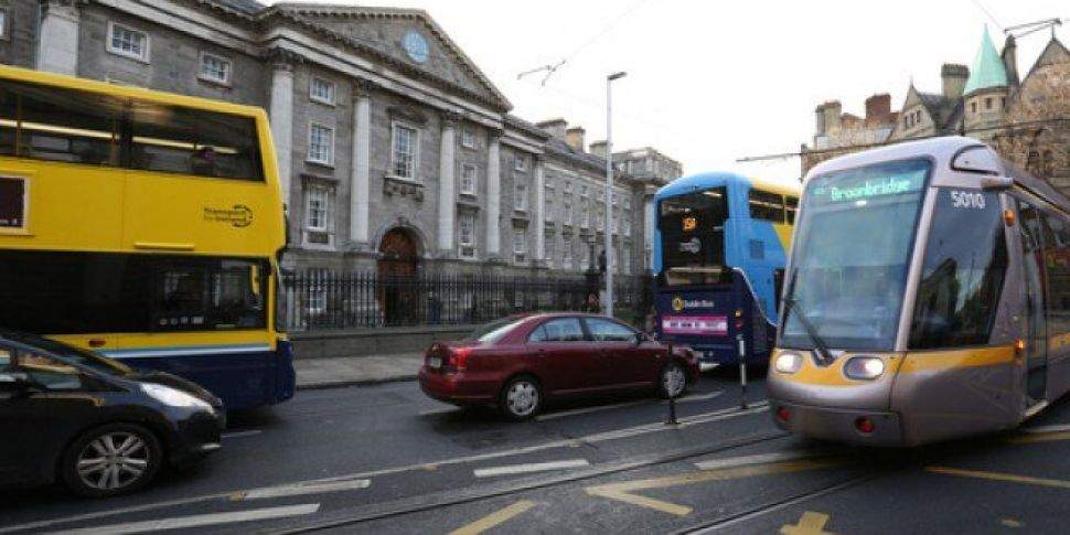 Dublin Bus Diverts Services Aw...