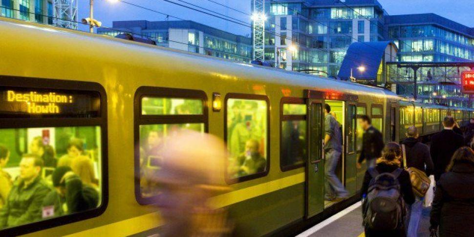 Gang Vandalise DART And Threaten Passengers