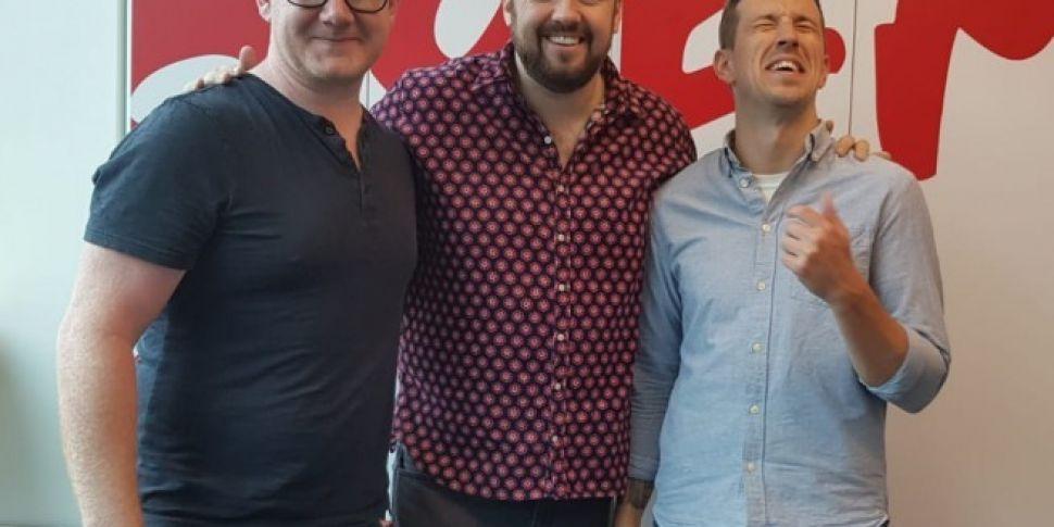Jason Manford On 98FM's Bi...
