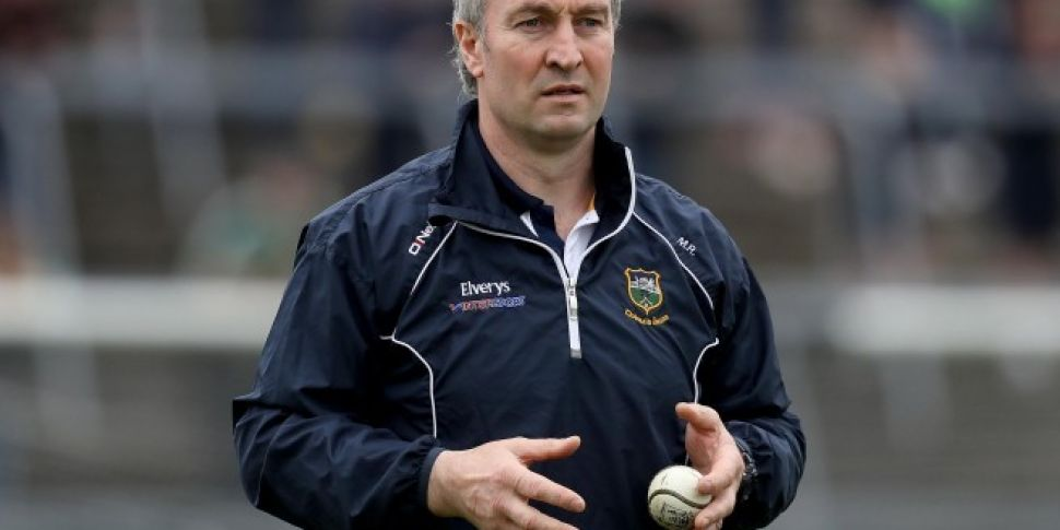 Tipperary manager Michael Ryan...