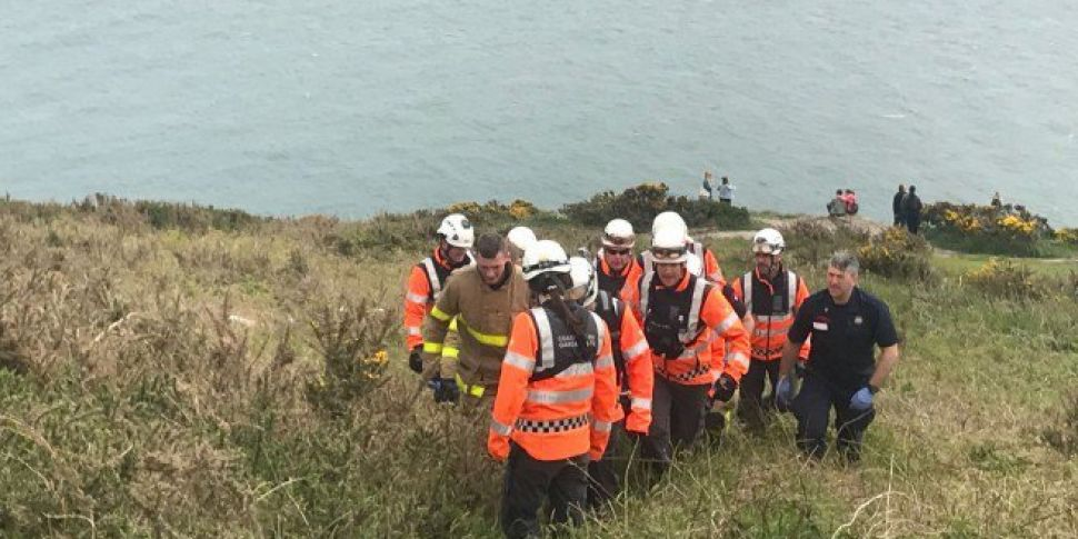 Tourist Rescued Off Howth Head
