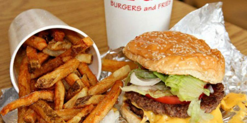 Opening Date For Five Guys On George's Street Revealed
