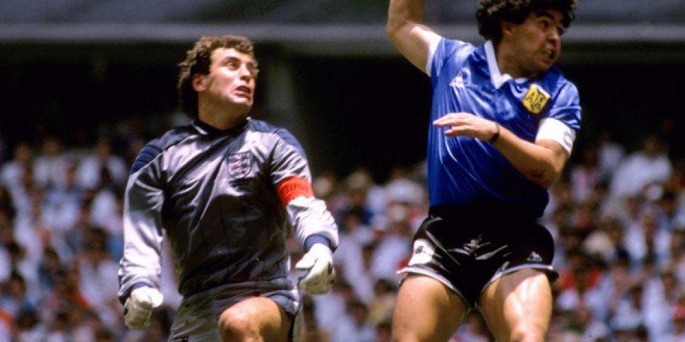 Peter Shilton on Maradona | &#...