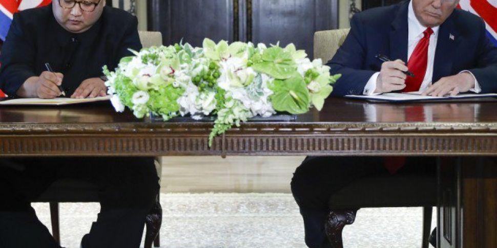 Donald Trump And Kim Jong Un S...
