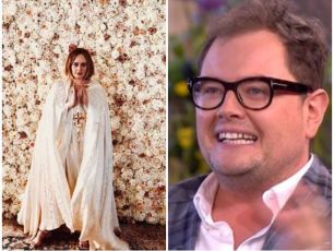 Adele Got Ordained To Marry Alan Carr & His Partner In Her Back Garden