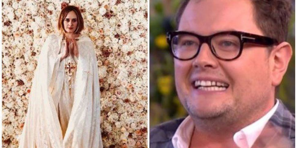 dbe527f684e Adele Got Ordained To Marry Alan Carr   His Partner In Her Back Garden