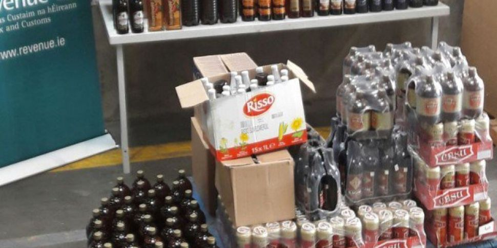 Beer Wine And Spirits Seized At Dublin Port